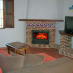 Cottage holidays in Almáchar with fireplace and pool