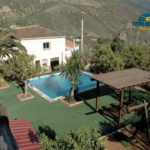 Lovely rental cottage with private pool in Alcaucín