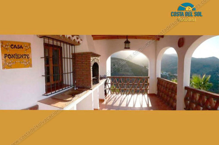 Cottages for rent for 12 people in Almachar