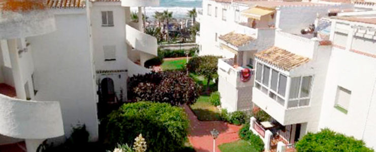 Apartment in front of the beach, Torrox Costa