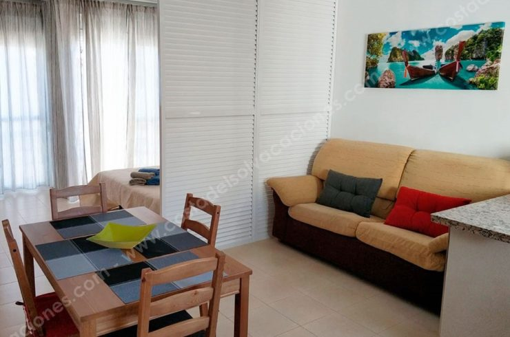 Studio five minutes from the beaches of Torrox