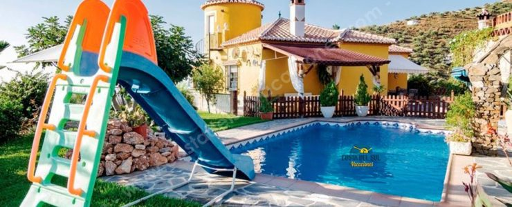Charming Cottage 3 km from the beaches of Torrox Costa